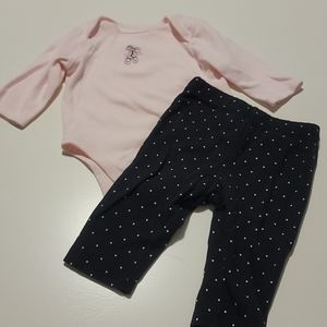 🩰Tiny Dancer Ballet slippers and polka dot outfit